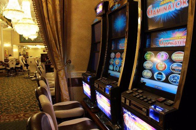 Свободное время с автоматами казино в казино Вулкан