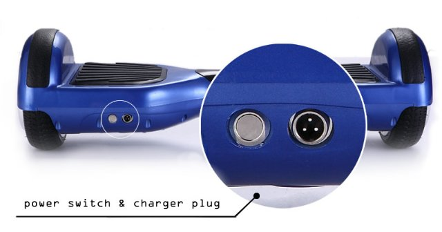Зарядка для гироскутера — информация