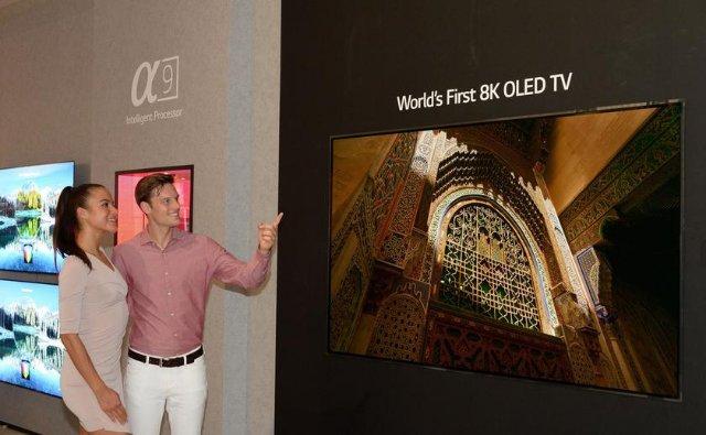 LG привезла на IFA 2018 первый в мире 8K OLED-телевизор