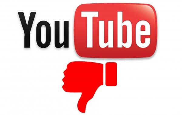 YouTube может убрать кнопку «дизлайк»