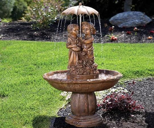 Где купить декоративные садовые фонтаны