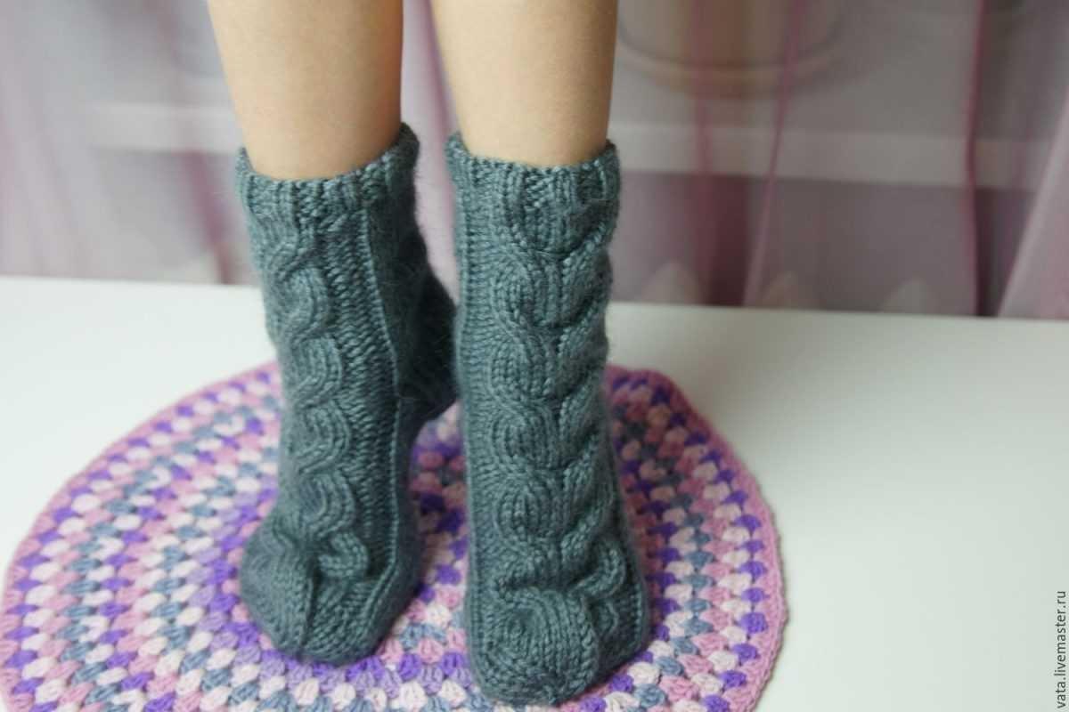 Вязание носков спицами красивые узоры