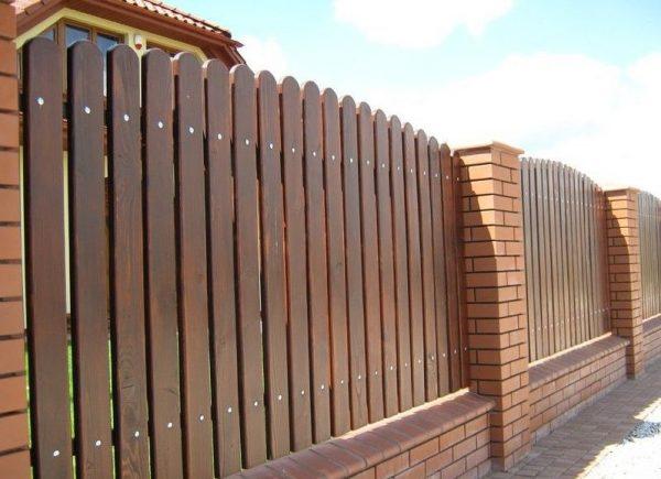 Забор с установкой под ключ в Москве