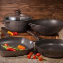 Посуда от ТМ Биол для приготовления вкусной и полезной пищи