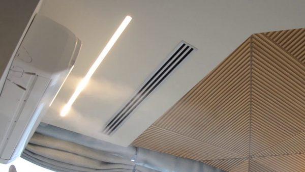 Многозональная система форсуночного адиабатического увлажнения воздуха AirWet