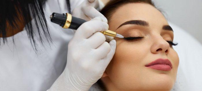 Перманентный макияж – преображение для эффектной красотки