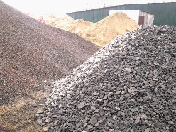 Щебень гравийный для строительства с доставкой