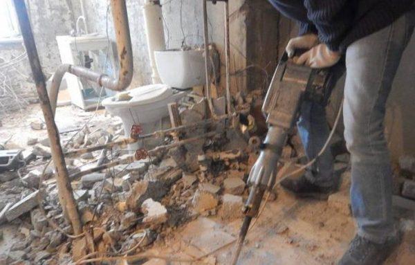Демонтаж сантехники и объектов от компании Melly Group
