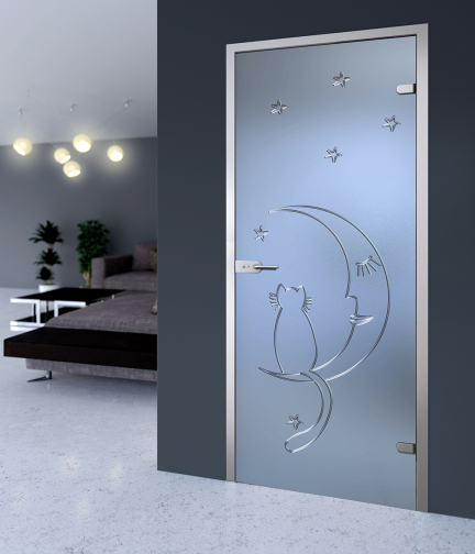 Качественные стеклянные двери Акма по доступной цене