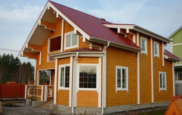 Профессиональная покраска деревянных домов и внутренняя отделка «под ключ»