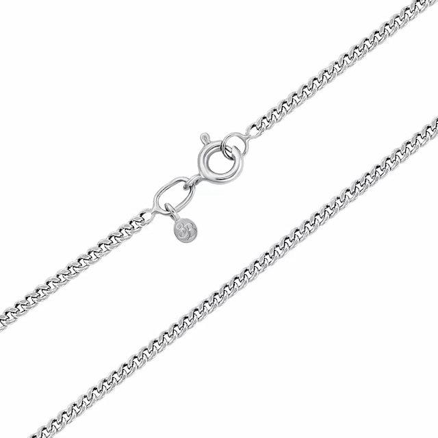 Серебряная цепь — главный аксессуар в женском и мужском образе