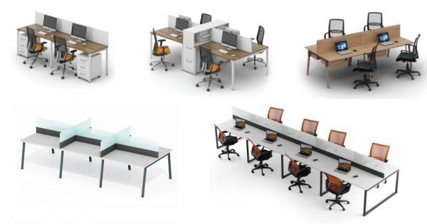 Качественные офисные столы разных типов в Уфе